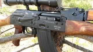 ВПО-209 или гладкоствольный АКМ))) Обзор, стрельба, мнение