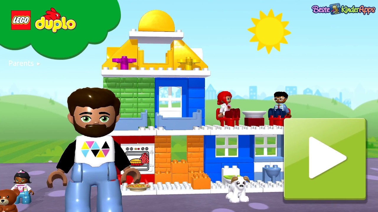 duplo town app h user bauen kleinkinder spiel kostenlos youtube. Black Bedroom Furniture Sets. Home Design Ideas