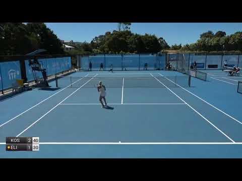 Kostyuk Marta v Elie Jennifer - 2018 ITF Burnie