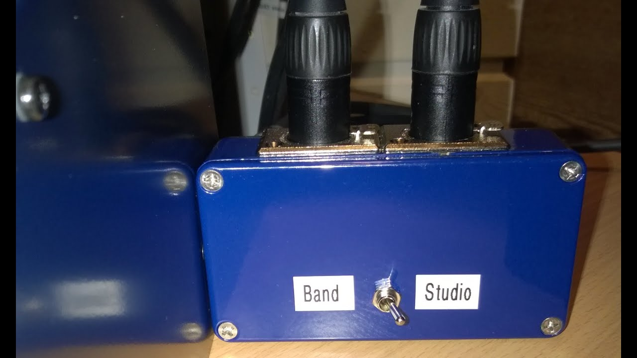 how to make balanced a b switch for studio monitors xlr youtube. Black Bedroom Furniture Sets. Home Design Ideas