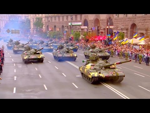 UA: First TV - Ukraine Independence Day Parade 2016 : Military Assets Segment [1080p]