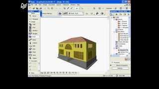 Построение крыши в ArchiCad