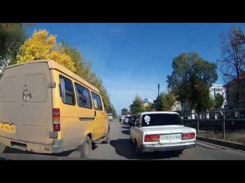 автобус в Сызрани поехал по встречке