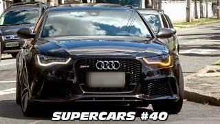 SUPERCARS 40  AUDI RS6 R8 LAMBORGHINI HURACAN BMW M4 M3 E  CARROS ESPORTIVOS
