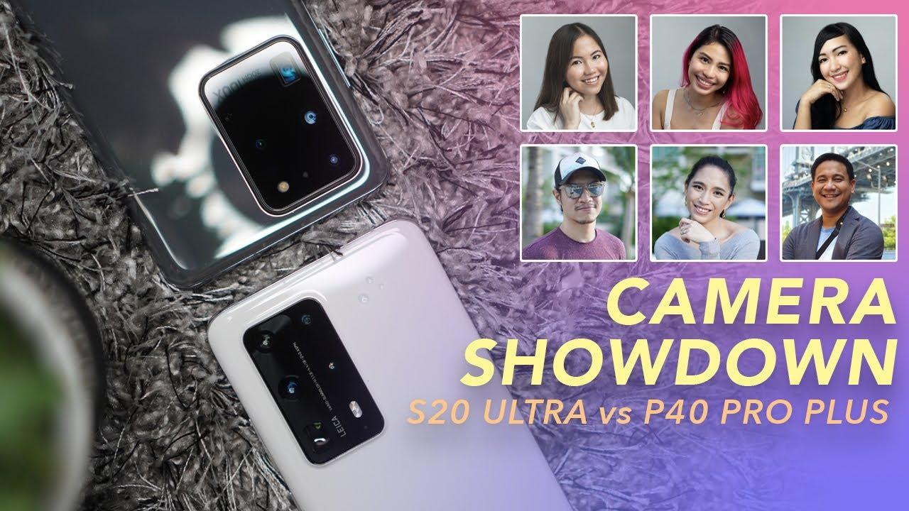 Samsung Galaxy S20 Ultra vs Huawei P40 Pro+ Blind Photo Comparison