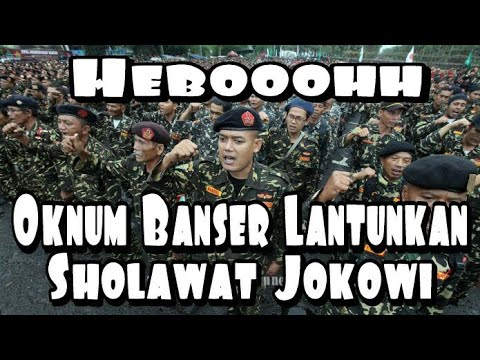 Setelah Beredar Sholawat Pancasila Kini Beredar Sholawat Jokowi Sholawat Banser Sholawat Nu