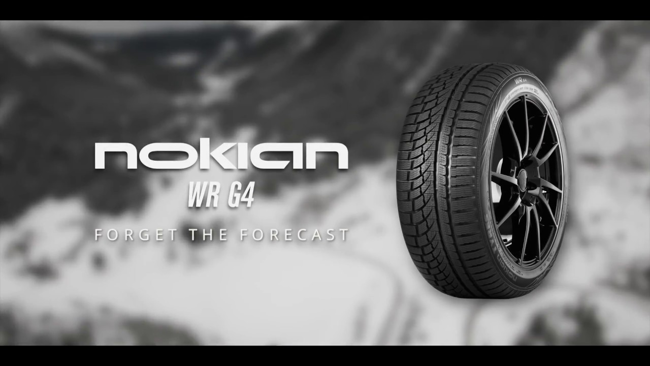 All Weather Tire >> Nokian WR G4 All-Weather Tire: Forget the Forecast - YouTube