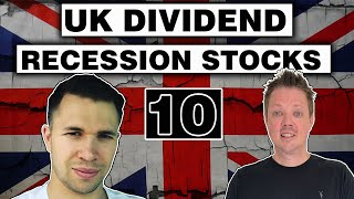 UK Dividend Stocks to buy in the RECESSION - UK investing
