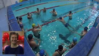 Мастер класс по плаванию кролем.  Плавать просто.  Москва 17 февраля 2019 года.
