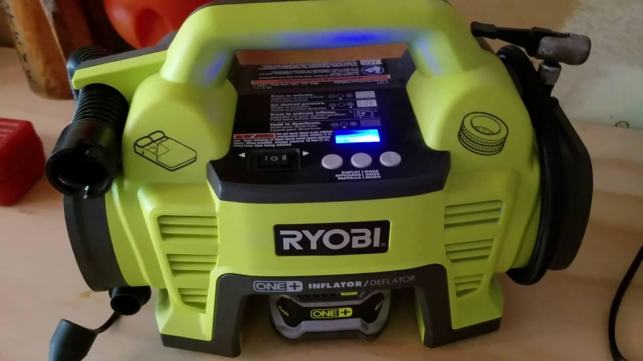 ryobi p731 inflator/deflator review - youtube