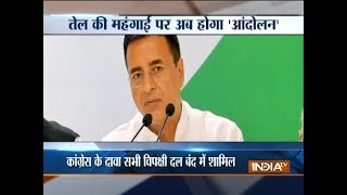 Congress calls for Bharat Bandh on September 10 against fuel prices hike