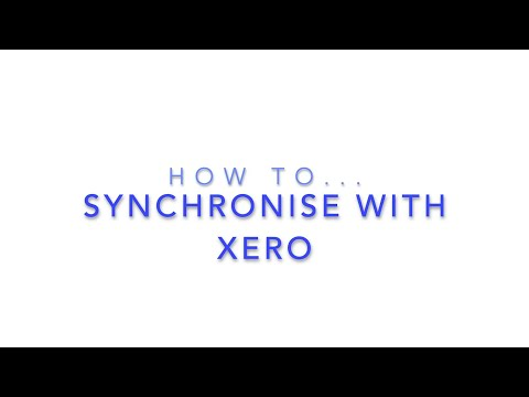 Synchronise With Xero - HireHop Equipment Rental Software