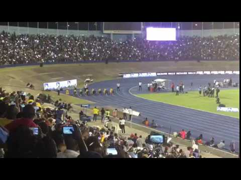 Usain Bolt -.One last race in Kingston Jamaica June 10, 2017.
