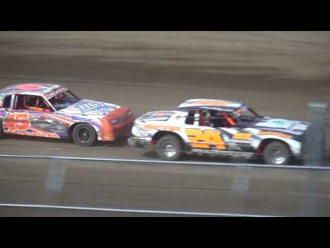 IMCA Hobby Stock feature Independence Motor Speedway 7/5/17