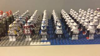 How to Build/Make a LEGO Star Wars Clone Army for Cheap!