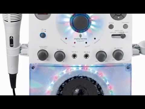 Best Price Free Shipping The Singing Machine SML-385W Disco Light Karaoke System