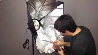 How to Set Up Softbox Lighting Kit (Fancierstudio)