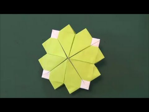 ハート 折り紙 折り紙 メダル 1枚 : youtube.com