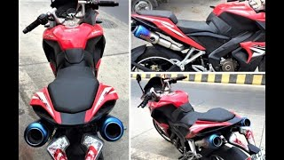 Download lagu Modified Exhaust For Pulsar RS 200 TOP 10 Best Sounding Pulsar RS 200 Himalayan spark plug MP3