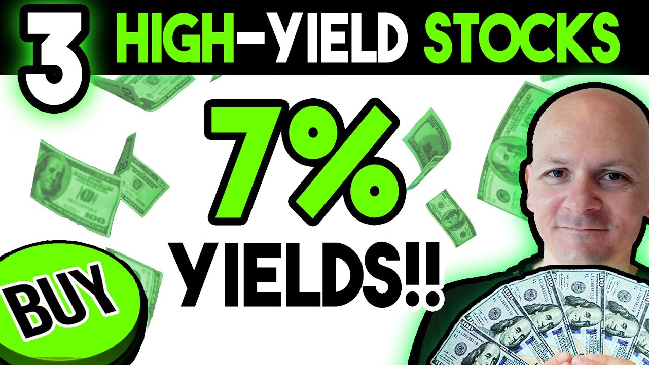Top Three 7% Yielding Dividend Growth Stocks To Buy Now