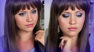 Дерзкий макияж в сиреневых тонах  ! LifeinsideUSA
