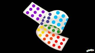 """Paint A Rainbow: Candy Buttons"" by Shelly ʕ•ᴥ•ʔ"