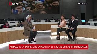 Mano a mano con Ernesto Villanueva, rector Universidad Arturo Jauretche