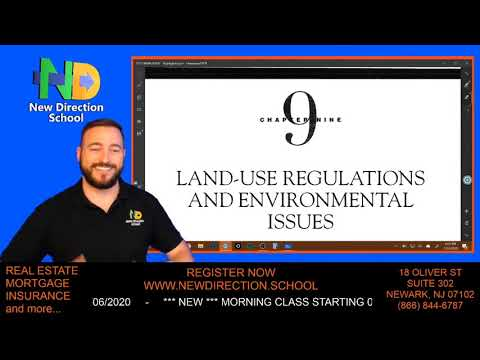 Land-Use Regulations and Environmental Issues #realestatelicense
