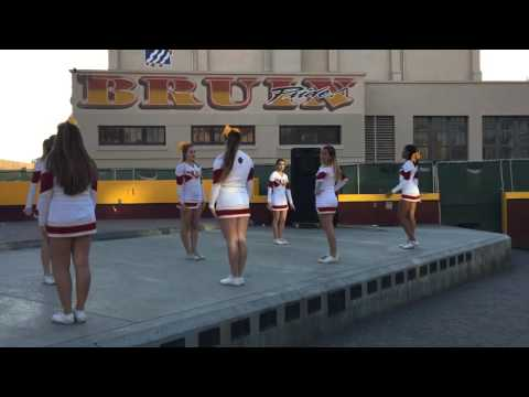 Long beach Wilson cheer 2016 dance
