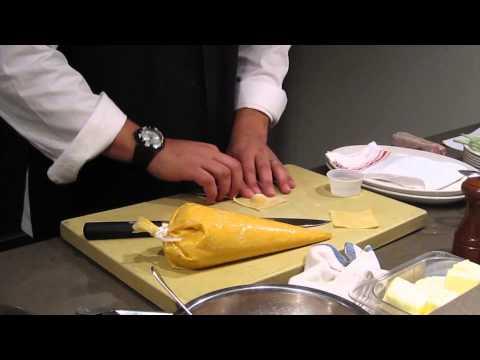 Julio Geneo of Casa Nonna Restaurant in NYC – Cooking Butternut Squash Ravioli