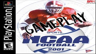 TBT NCAA Football 2001 [PS1] Gameplay (Nebraska vs. Miami)