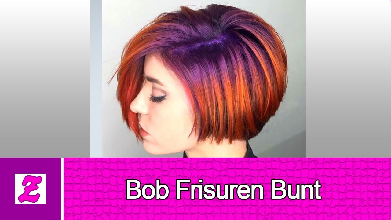 Attraktive Bob Frisuren Bunt Hd