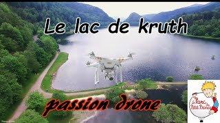 Drone Alsace: Le lac de Kruth et les alentours du parc du petit prince.