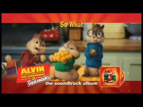 Alvin & The Chipmunks Commercial