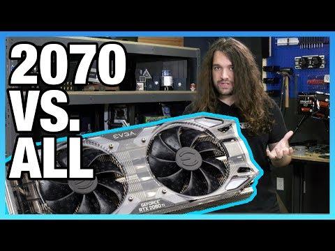EVGA RTX 2070  & Overclocking vs. GTX 970, 1070, & More