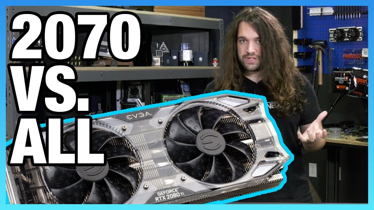 EVGA RTX 2070 Review & Overclocking vs  GTX 970, 1070, & More