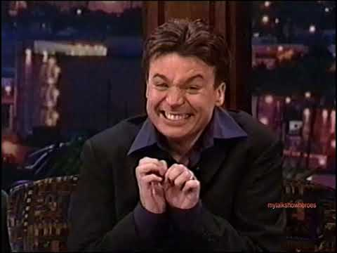 MIKE MYERS - CREATION of 'AUSTIN POWERS'