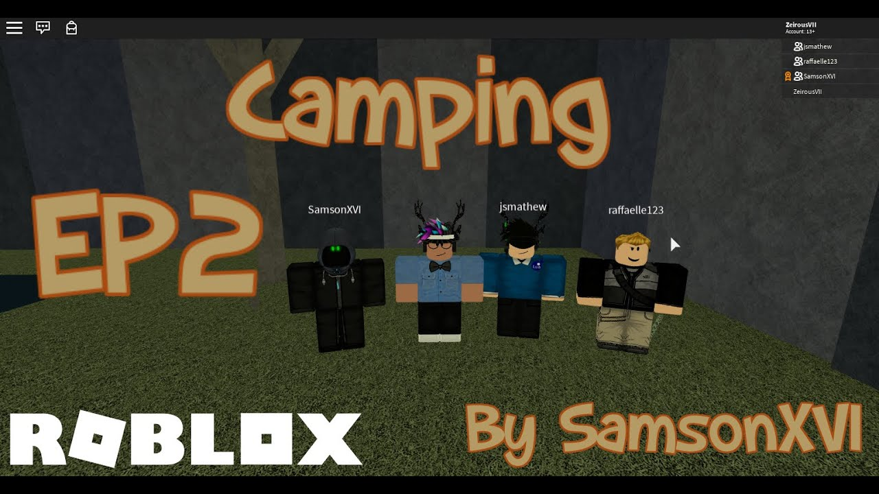 Roblox Camping Ep2 Game Spoiler Youtube