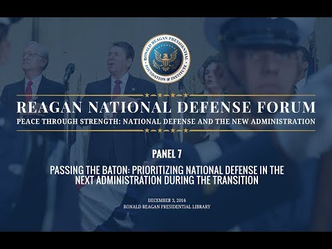 Panel 7 from 2016 Reagan National Defense Forum