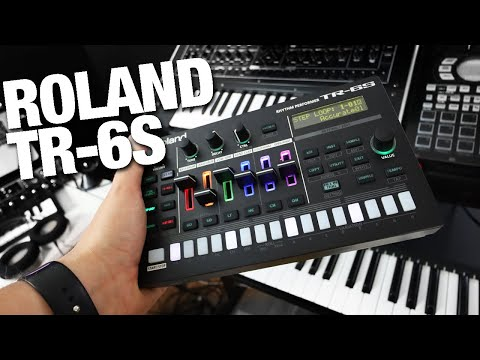 Rolands new drum machine TR-6S! - Better than expected
