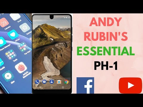 Andy Rubin's Essential PH-1 Phone Specs (Official) | Droid Life | Shahid Tech