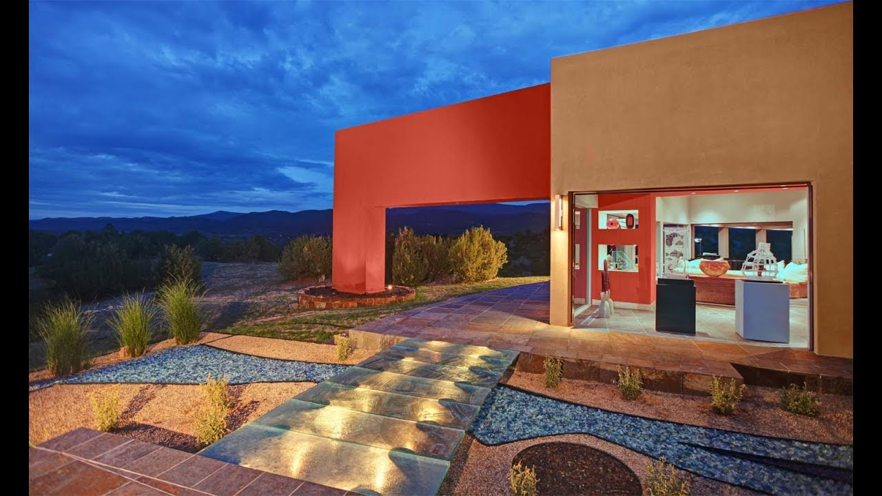 Casa de Vidrio - House of Glass, Santa Fe, New Mexico - YouTube
