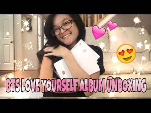 BTS LOVE YOURSELF 'HER' ALBUM UNBOXING {ALL VERSIONS}