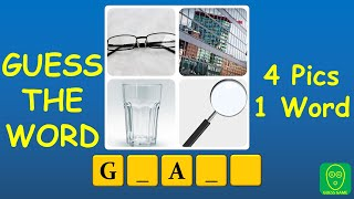 4 Pics 1 Word पहेली - भाग 1: इस 4Pics1Word Challenge में शब्द का अनुमान लगाएं screenshot 3