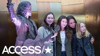 Chris Cornell's Wife, Kids & Bandmates Unveil New Memorial Statue Of Him In Seattle   Access