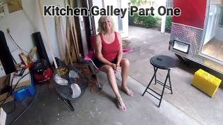 Tiny House Kitchen Galley Part One