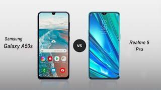 Samsung Galaxy A50s Vs Realme 5 Pro Speed Comparison in Hindi (2019)