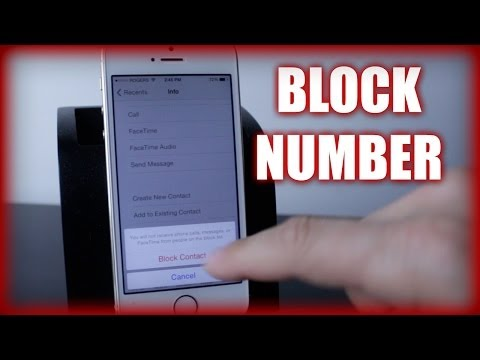 How To Block And Unblock Numbers On The Iphone