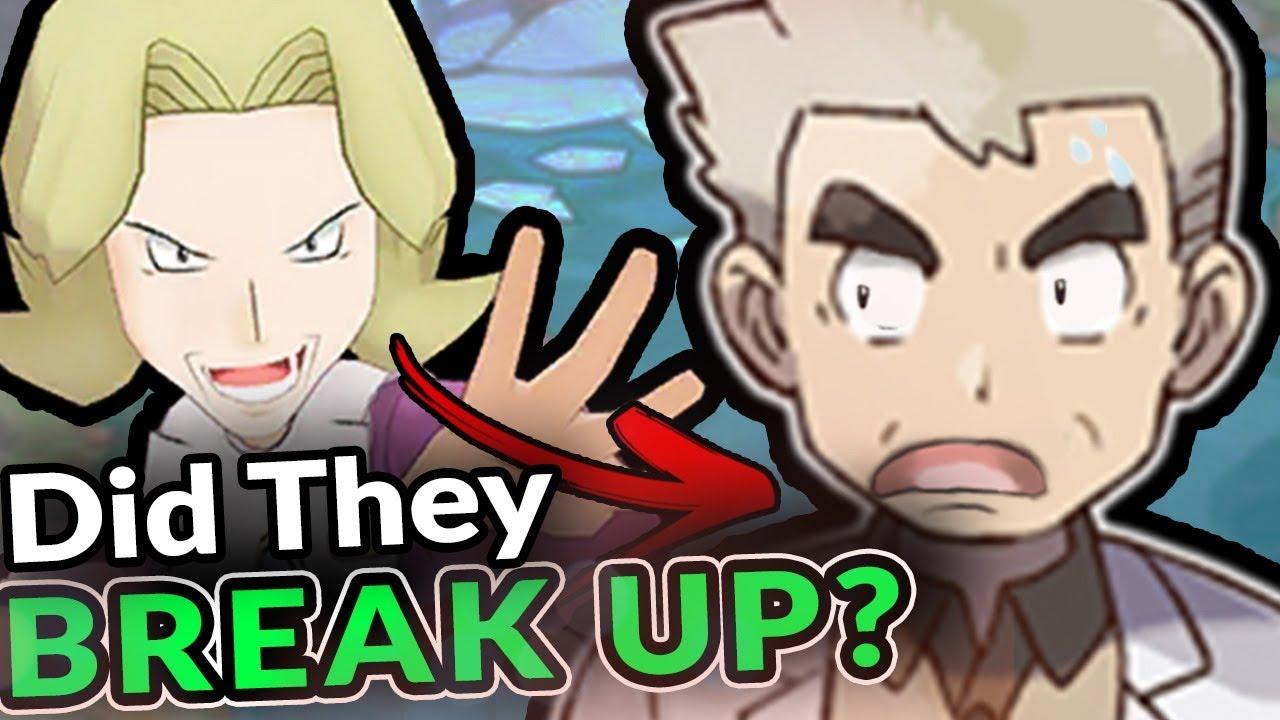 Did Professor Oak BREAK UP With Agatha - Pokemon Theory
