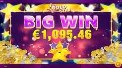 Gold Star Slot Features & Game Play - Big Win - by Red Tiger